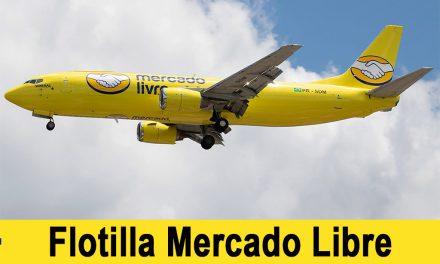 Mercado Libre despega con su flota de aviones para entrega de compras